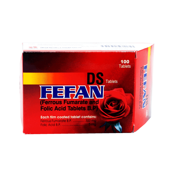 Fefan Ds 300+5mg Tablets 100's