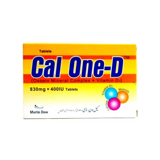 Cal-One - D Tablets 30's