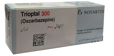 Trioptal Tablets 300mg 50's  (Oxcarbazepine)