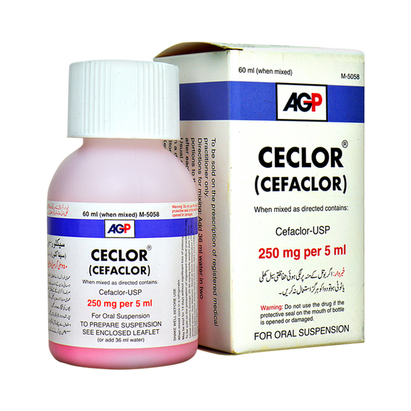 Cefalor Suspension 250mg 60ml