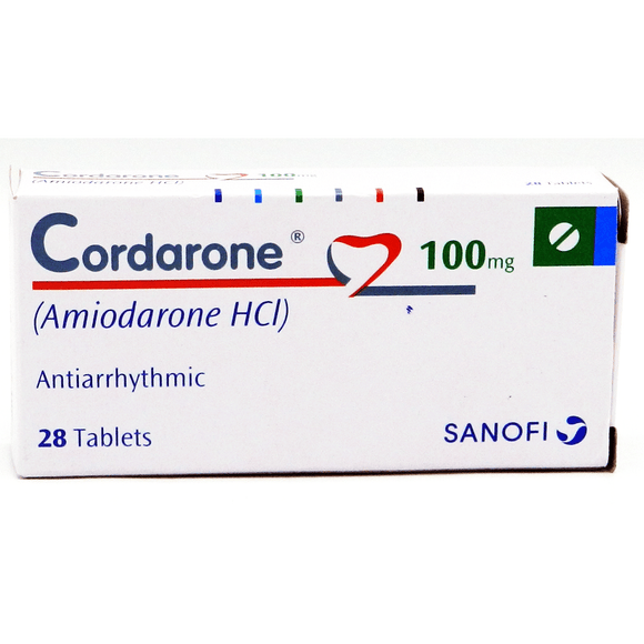 Cordarone Tablets 100mg 2X14's
