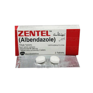 Zentel Tablets 2's