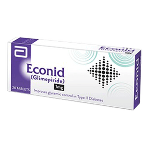Econid 1mg Tablets 20's