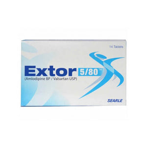 Extor Tablets 5/80mg 14's