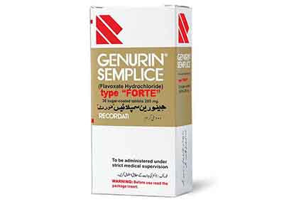 Genurin Tablets Forte 200mg3X10's