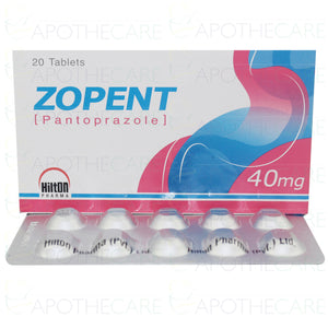 Zopent Tablets 40mg 20's