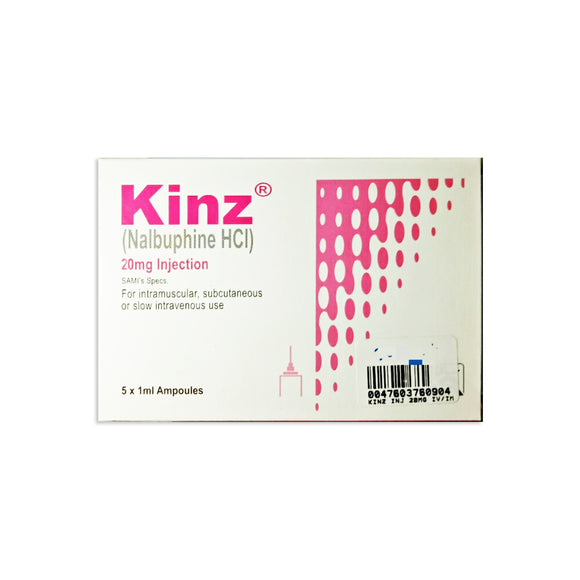 Kinz Injection 20mg 5 Ampoules