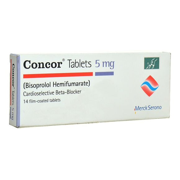 Concor Tablets 5mg 14's