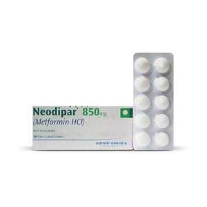 Neodipar Tablets 850mg 3X10's