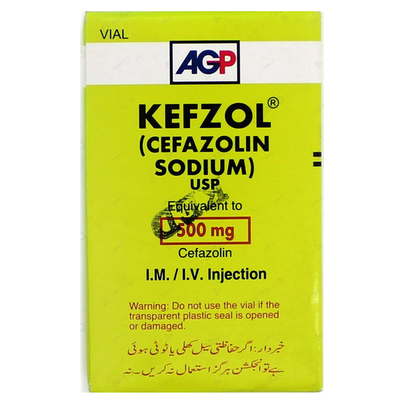 Kefzol 500g Injection
