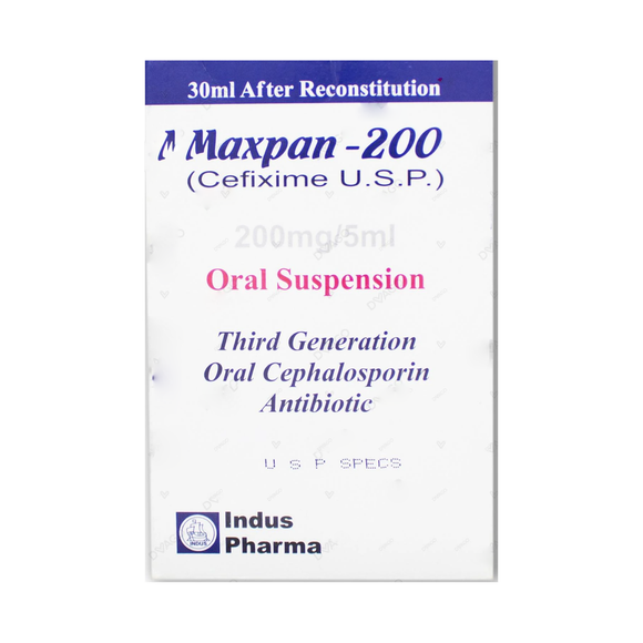 Maxpan Suspension 200mg 30ml