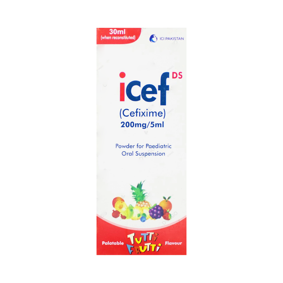 Icef Suspension Ds 200mg 30ml