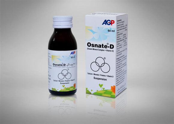 Osnate-D Syp 60ML 1'S