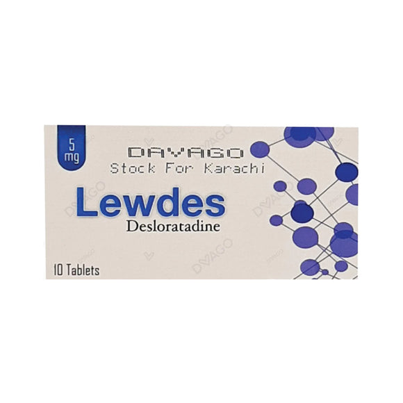 Lewdes 5mg Tablets 10's