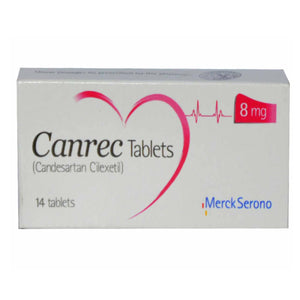 Canrec 8mg Tablets 14's
