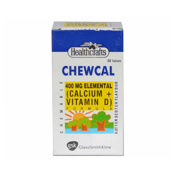 Chewcal Tablets 30's