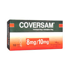 Coversam Tablets 8/10mg 10's