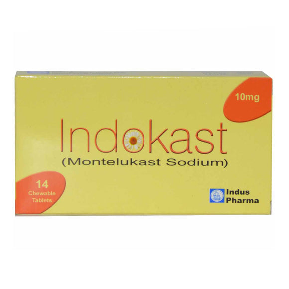 Indokast Tablets 10mg 14's