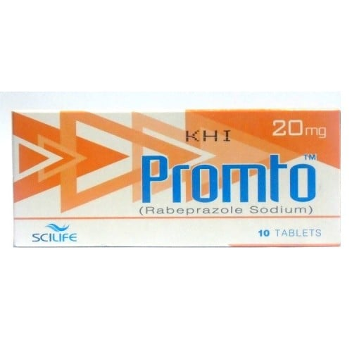 Promto Tablets 20mg 10's