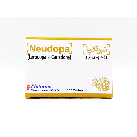 Neudopa 275mg Tablets 100's