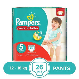 Pampers Pants 12 To 18kg 26Pcs