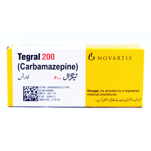 Tegral Tablets 200mg 5X10's