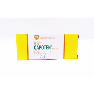 Capoten Tablets 50mg 20's