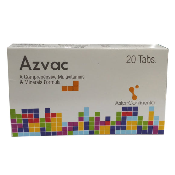 Azvac Tablet 20's