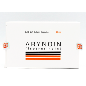Arynoin 20mg Capsules 30's