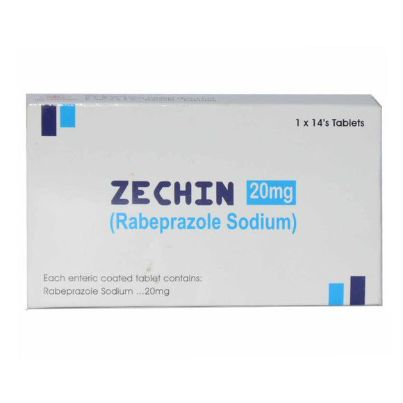 Zechin Tablets 20mg 14's