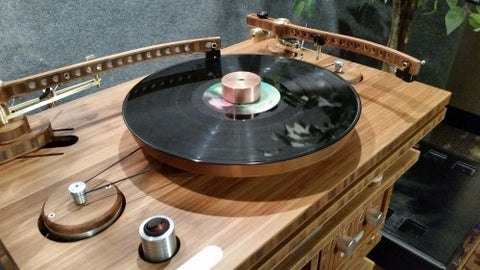 "Tri-Art B-series TA-2 Turntable with B-series TA-2 9"" Tonearm"