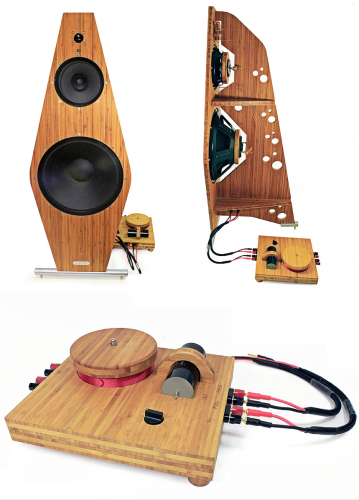 Tri-Art B-series 4 Open Loudspeakers w. Crossover