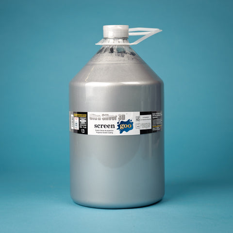 Screen Goo Ultra Silver 3D Finish Coat 3.78L