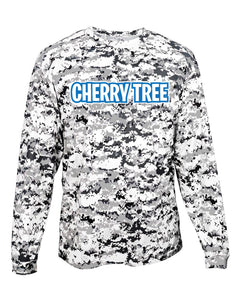 Camo Youth Long Sleeve T-Shirt