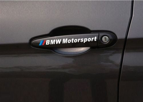 AMAZING CAR HANDLE STICKERS FOR BMW CAR HANDLE STICKER CAR DECAL