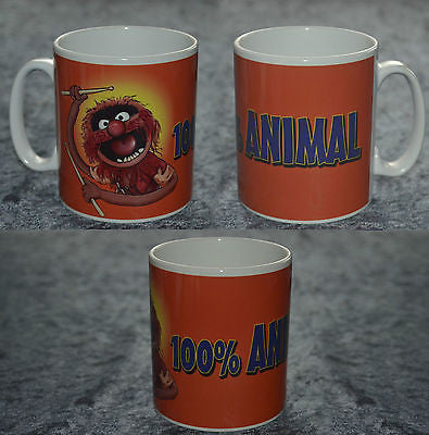 100% ANIMAL Muppets Coffee Mug Can Be Personalised. Christmas Birthday Gift