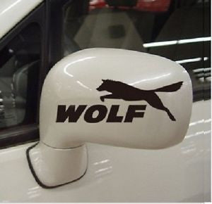 WOLF STICKER CAR STICKER FOR WING MIRROR CAR DECALS