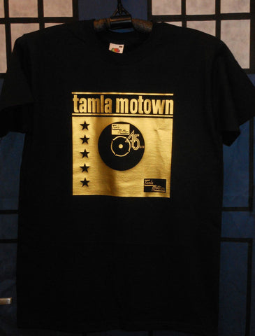 Northern Soul - Tamla Motown 45 Gold- short sleeve t-shirt