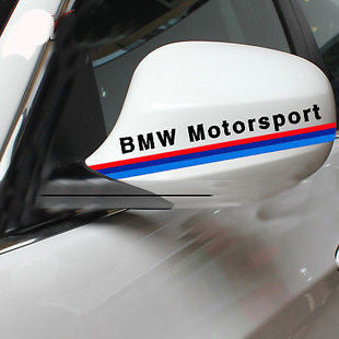 AMAZING CAR WING MIRROR STICKERS FOR BMW CAR STICKERS CAR DECAL