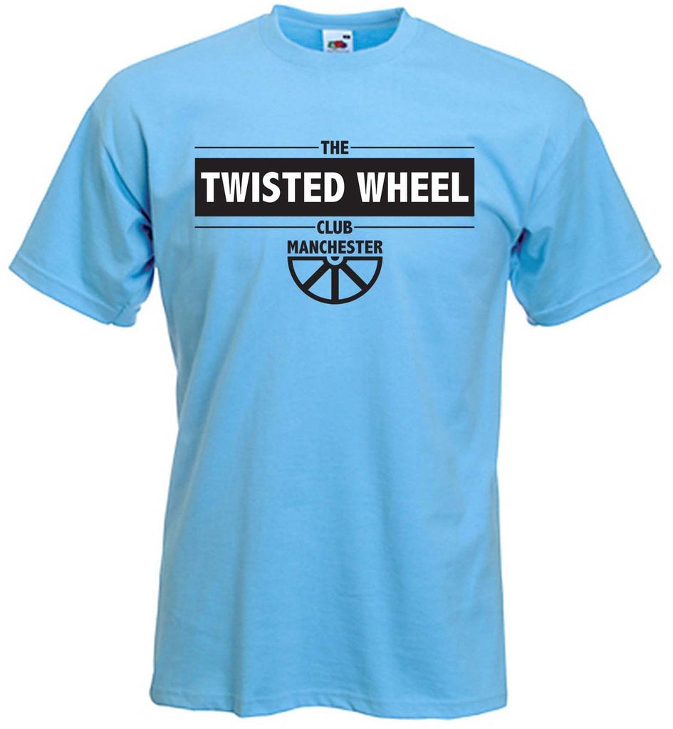 TWISTED WHEEL NIGHTCLUB T-SHIRT - Northern Soul Motown Mod - Choice Of Colours