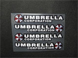 4 x Resident Evil Car Door Handle sticker car sticker Car Handle Decals sticker