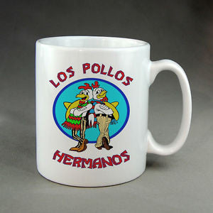 Breaking Bad Los Pollos Hermanos Mug - Great Gift For Fans - Can Be Personalised