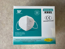 Load image into Gallery viewer, White KN95 Mask (20 Count)