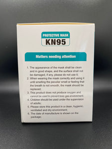 White KN95 Mask (20 Count)