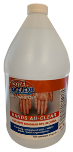 Code All-Clear Hand Sanitizer