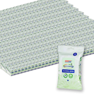 Pallet of Germisept Multi-Purpose Antibacterial Alcohol Wipes (15 Count) (3600 Packs)