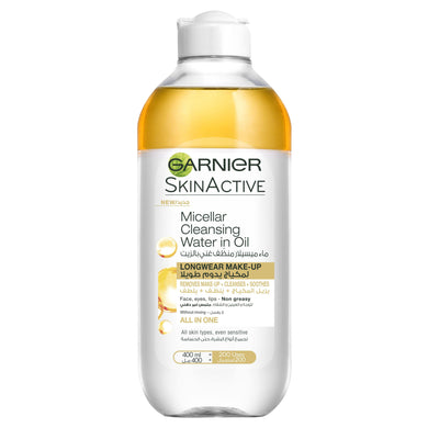 Garnier Micellar Oil-Infused Cleansing Water 400 ML - Mrayti Store