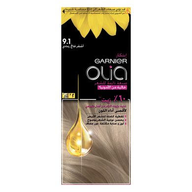 Garnier Olia 9.1 - Ashy Light Blond - Mrayti Store