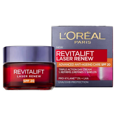 L'Oreal Paris Revitalift Laser X3 - Renewing Anti-Aging Care SPF 20 - Mrayti Store
