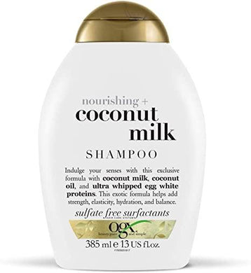 OGX Nourishing and Moisturizing Shampoo 385 ml - Mrayti Store